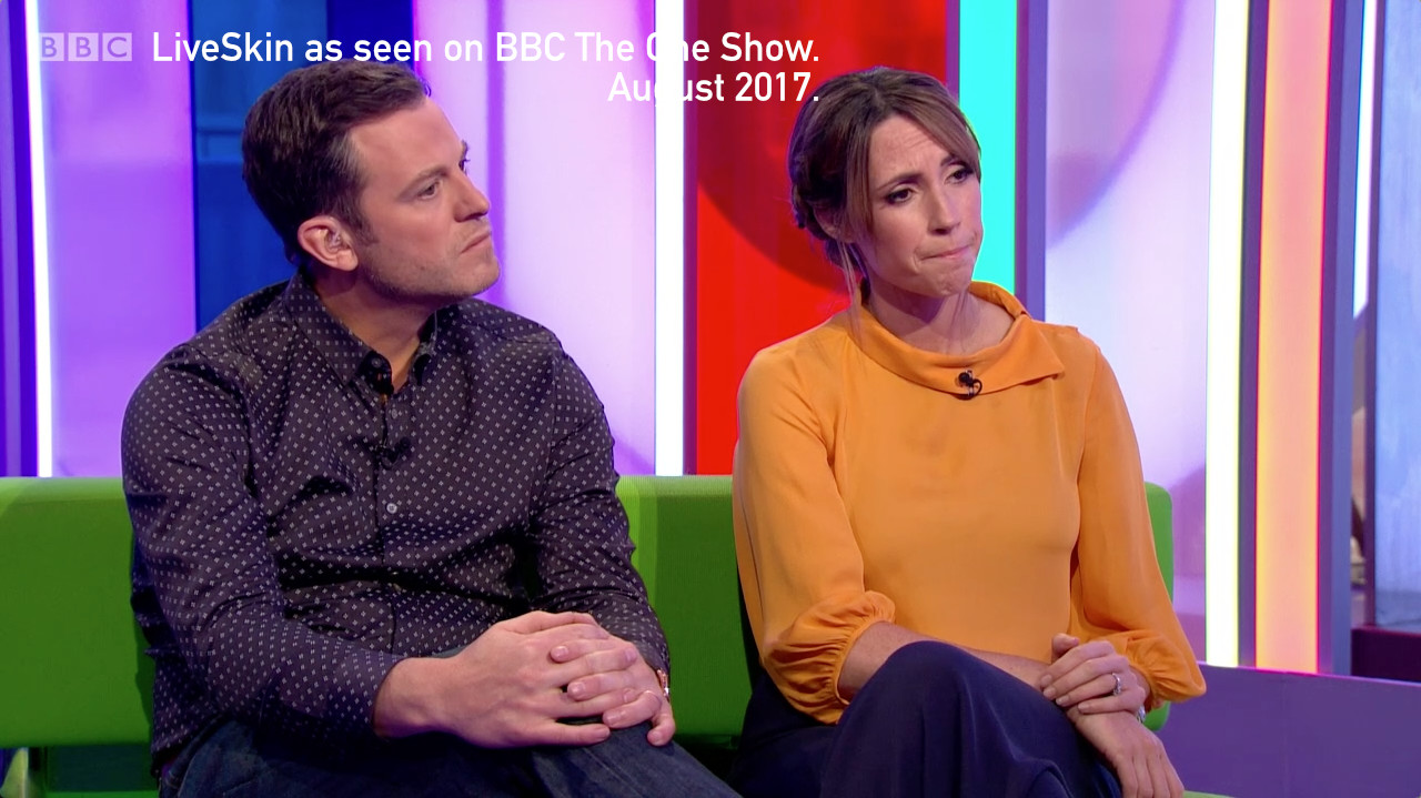 BBC The One Show Rugby LiveSkin Live Skin Painkiller