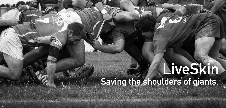 live skin rugby BBC The One Show LiveSkin Edinburgh Jack Ng